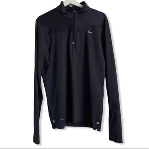 Nike Fit Dry Medium Size 1/4 Zipped Longsleeve